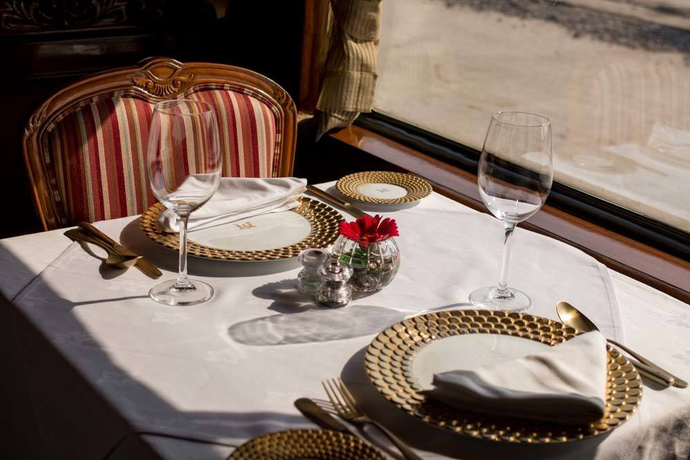 Maharajas Express Dining Room