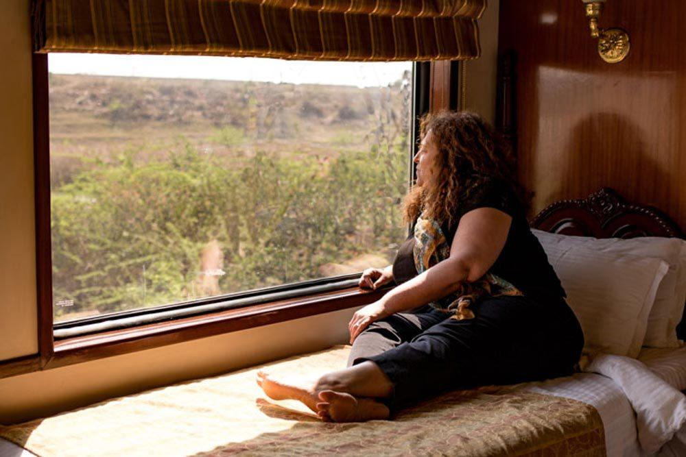 Maharajas Express Junior Suite Cabin View