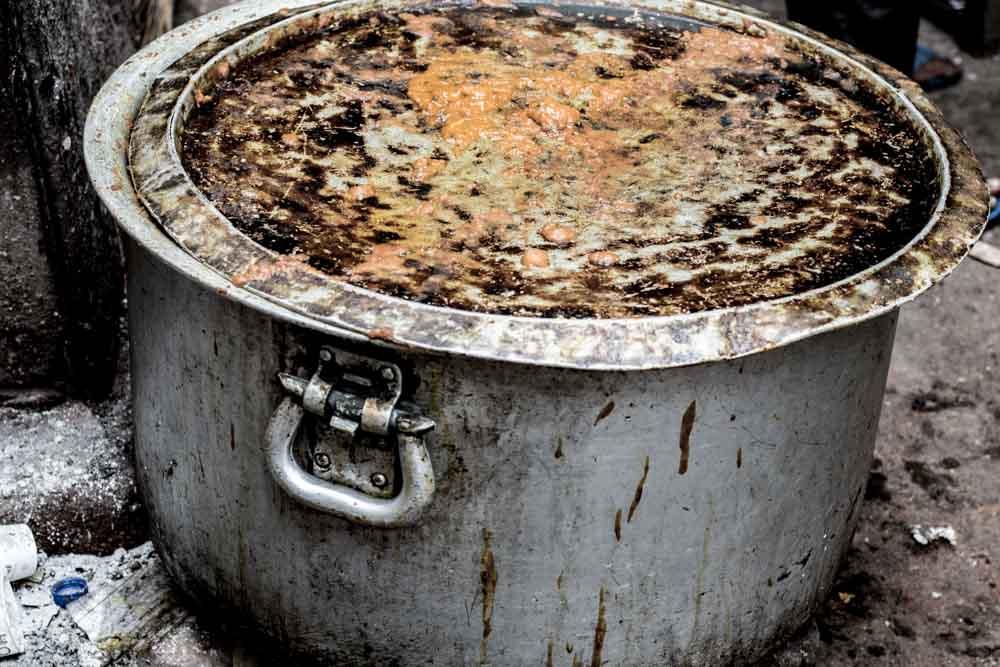 Old Delhi Street Food Pot