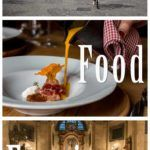 Pinterest image: three images of Ljubljana with caption reading 'Ljubljana Food Experiences'