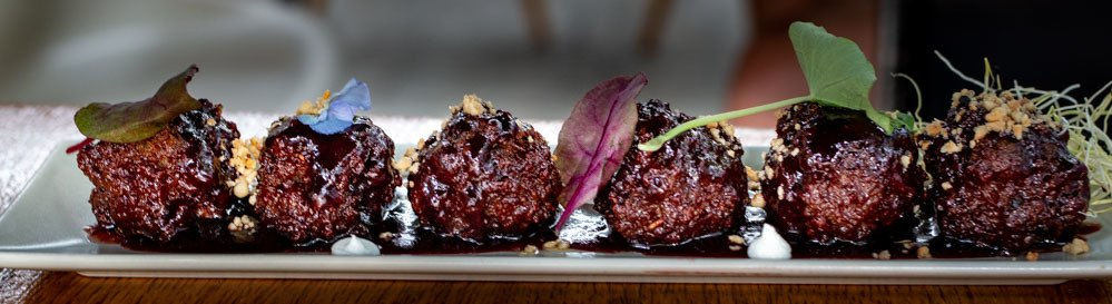 Meatballs at A Taste of Home in Athens Greece - Athens Restaurants