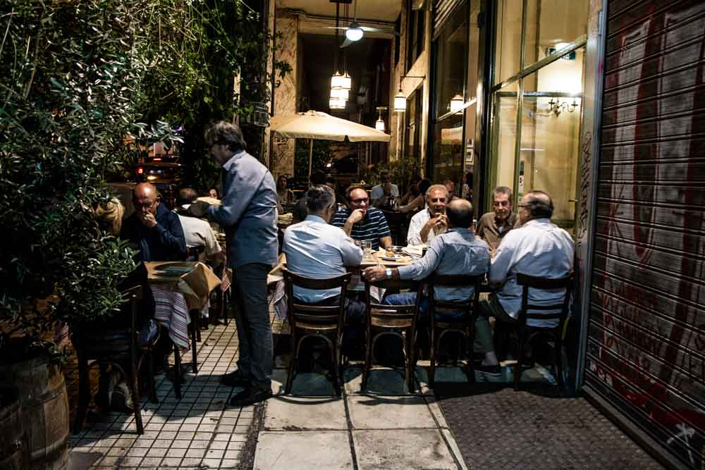 Ouzeri Lesvos in Athens Greece - Athens Restaurants