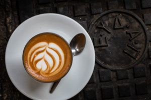 Athens Restaurants - Taf Coffee Flat White