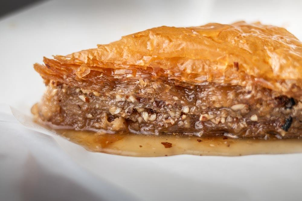 Baklava at Athinaika Galatompoureko Triantafillou in Athens Greece