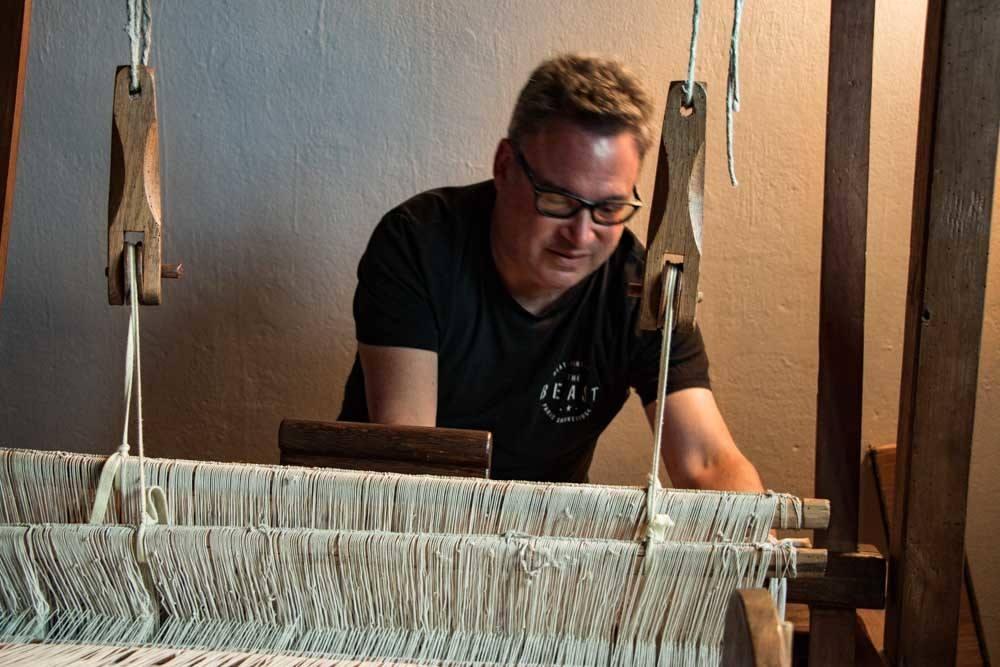 Domaca Orbt Cvitkovic Loom in Slovenia