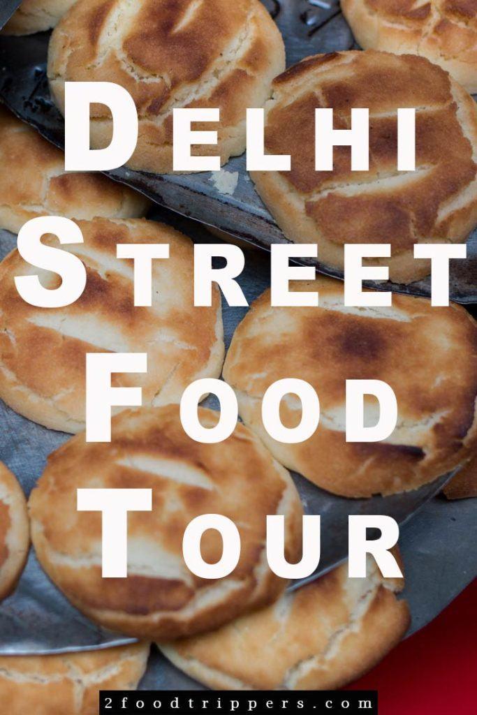 Delhi Food - Pin