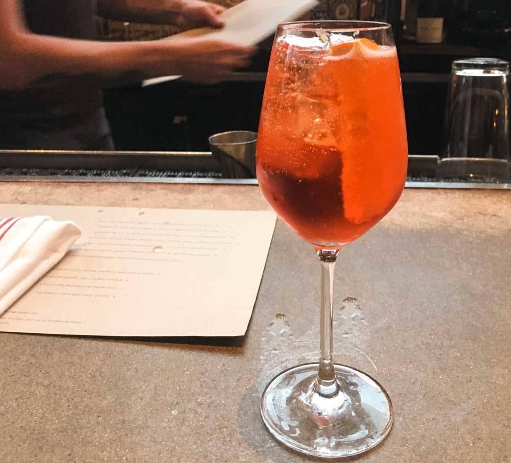 Drink at Nopa in San Francisco