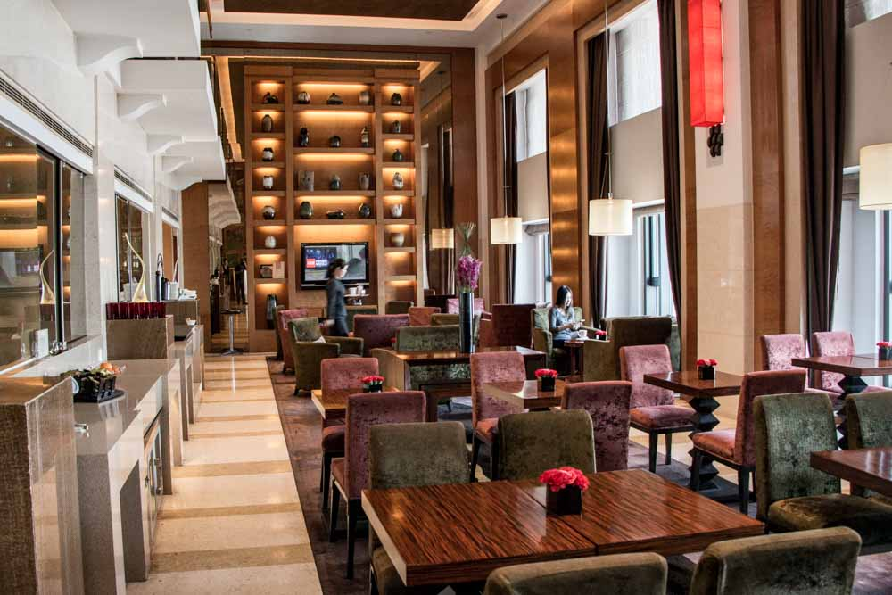 Executive Club Lounge at the Swissotel Grand Shanghai