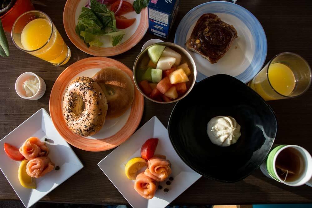 Holland America Cruise Breakfast Lido Deck