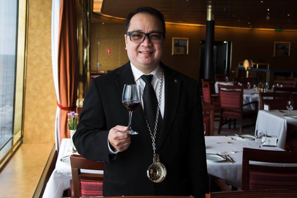 Holland America Cruise Cellar Master Alvin Pormicelle