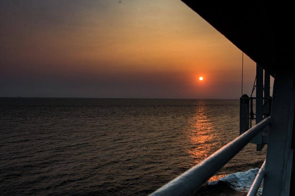 Holland America Cruise Sunset