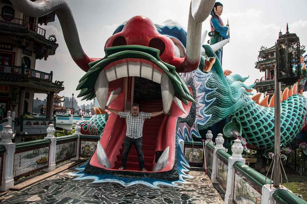 Kaohsiung Dragon Statue
