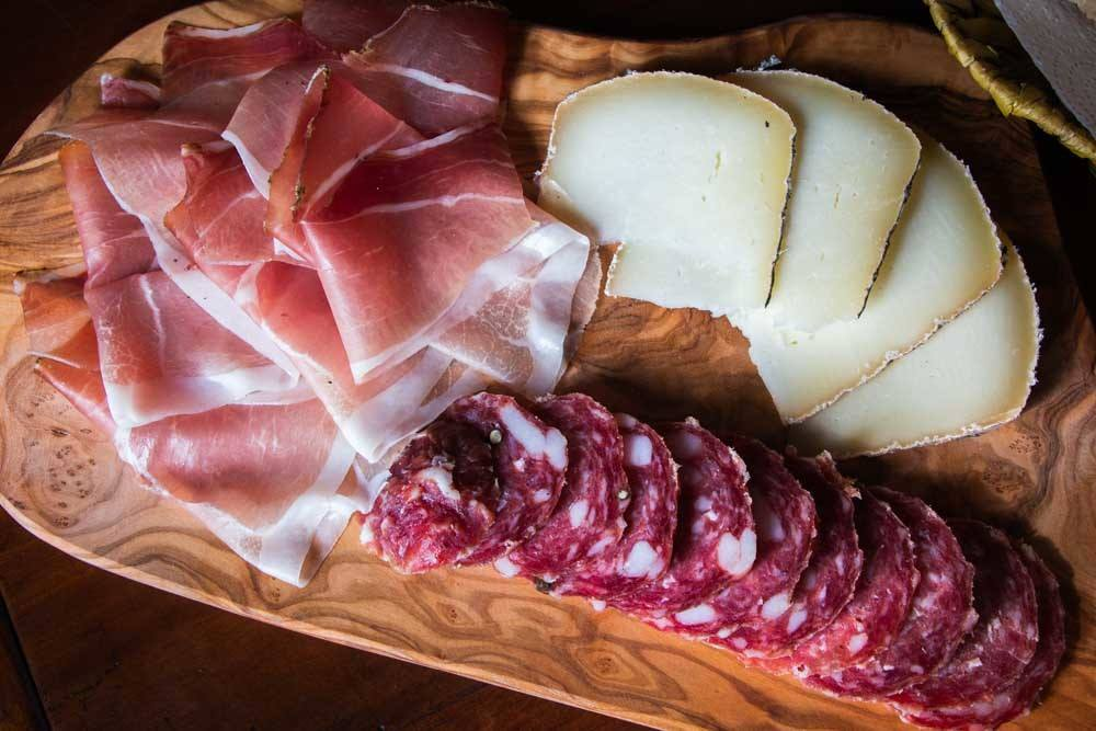 Le Cesarine Aperitivo in Florence Italy