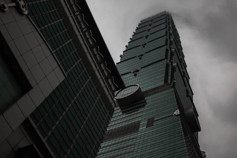Taipei 101 Building in Taipei Taiwan