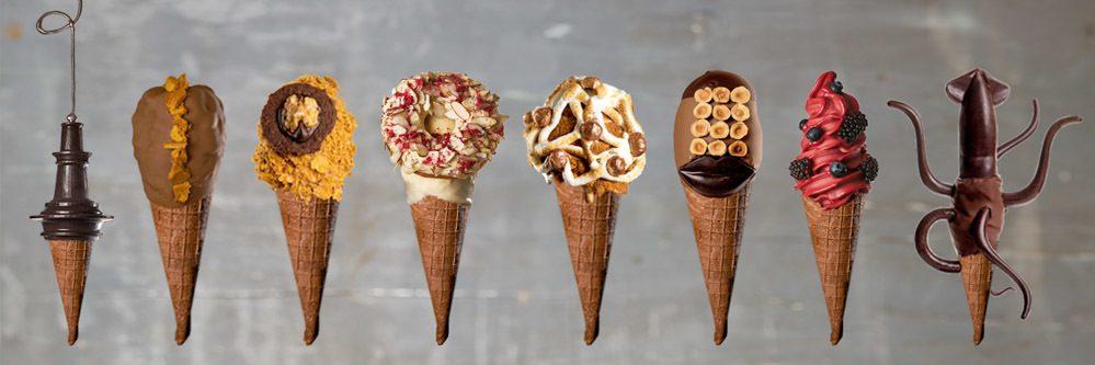 Giapo Ice Cream Cones in Auckland New Zealand - New Zealand Food