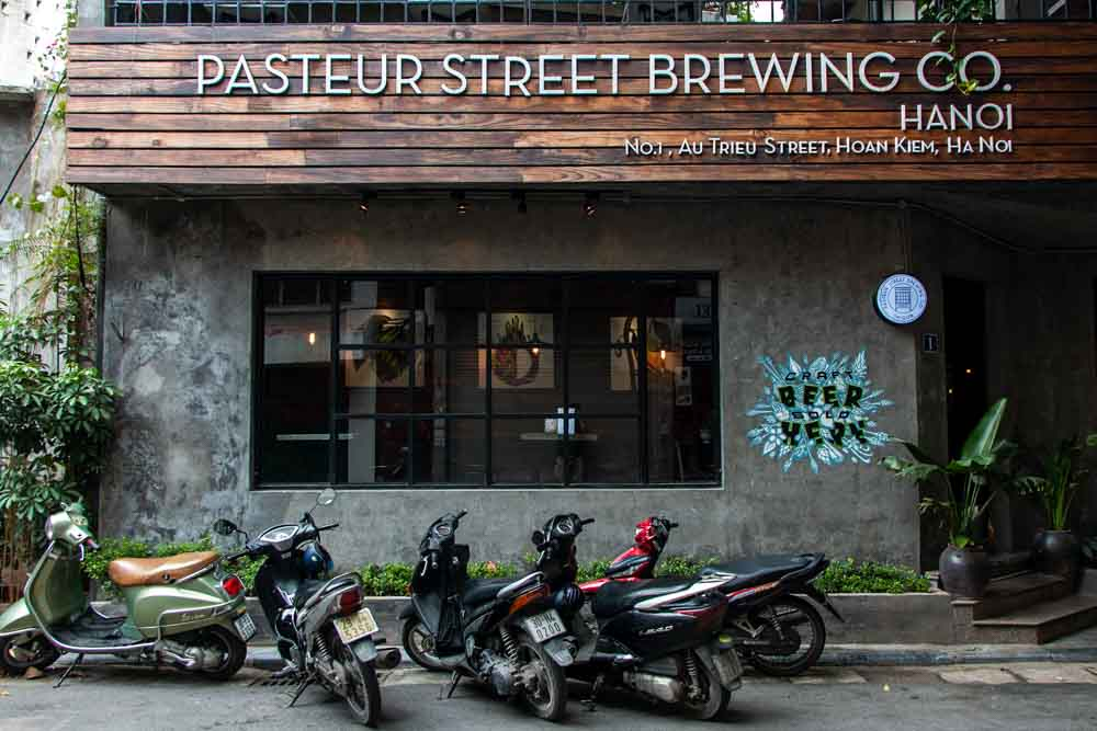Pasteur Street Brewing Company in Hanoi Vietnam