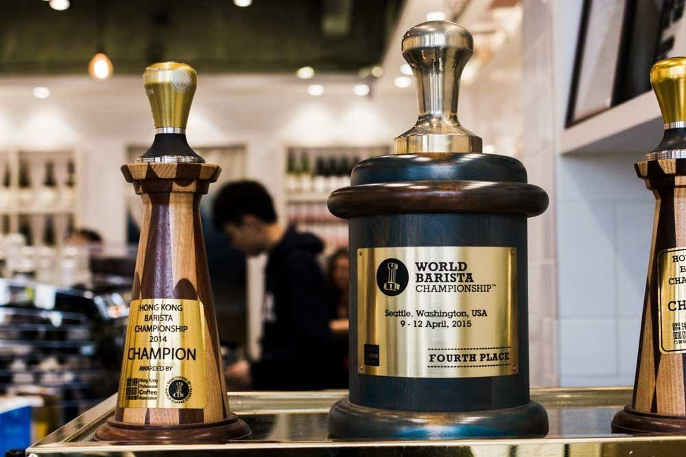 Amber Coffee Brewing Barista Awards