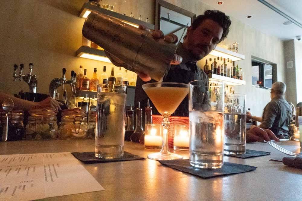 Bar at Vernick in Philadelphia