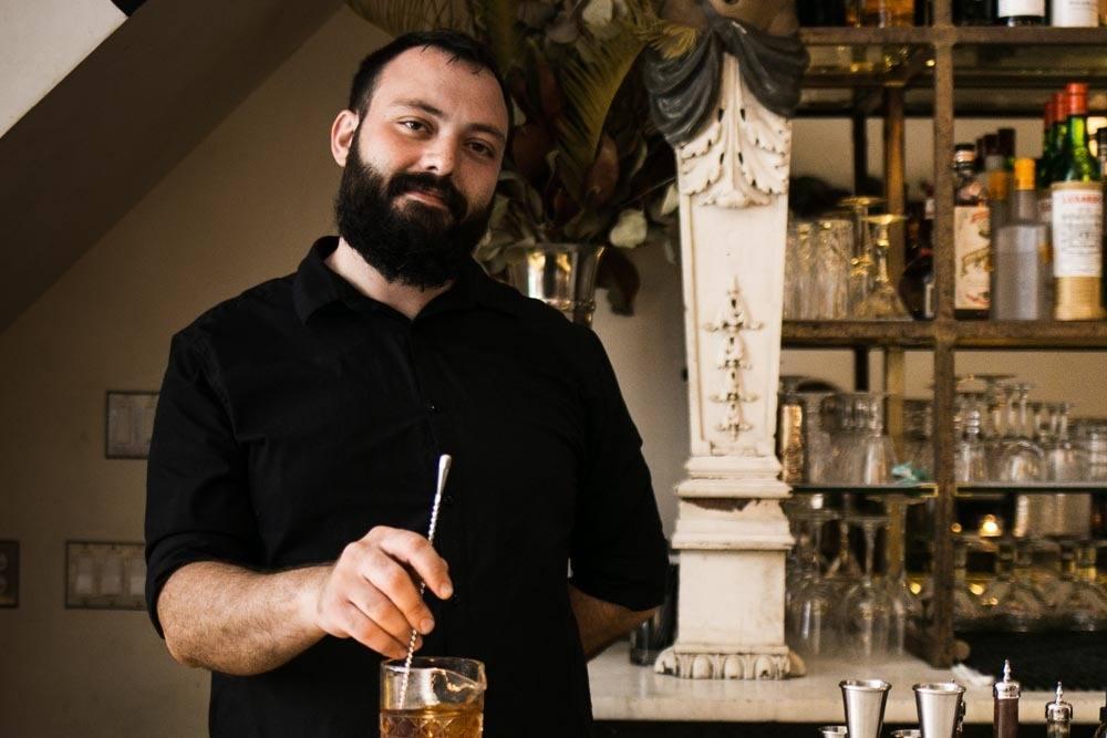 Bartender at Friday Saturday Sunday in Philadelphia