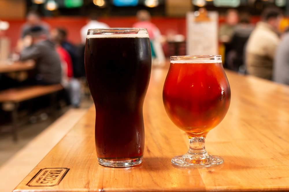 Beer at Yards Brewery in Philadelphia