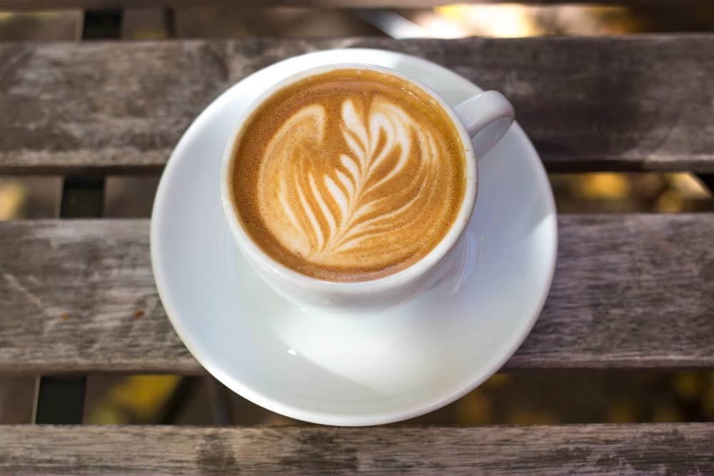 Cappuccino at Reanimator in Philadelphia