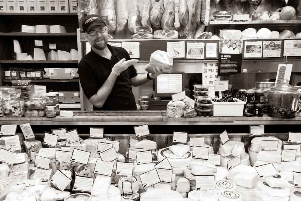 Cheese Counter at Di Bruno Brothers in Philadelphia