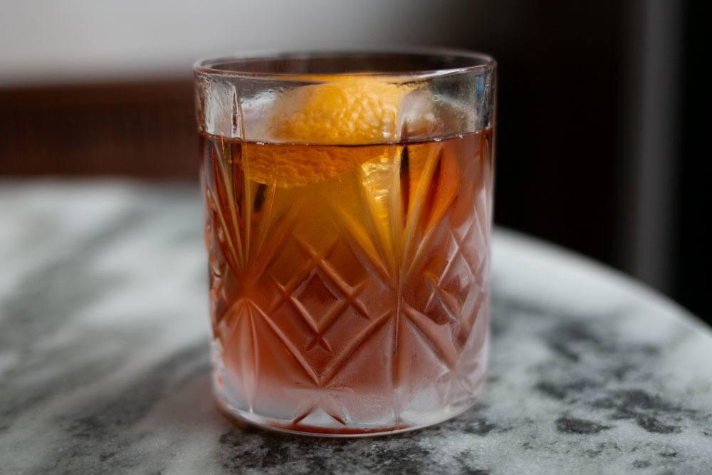 Cocktail at Friday Saturday Sunday in Philadelphia