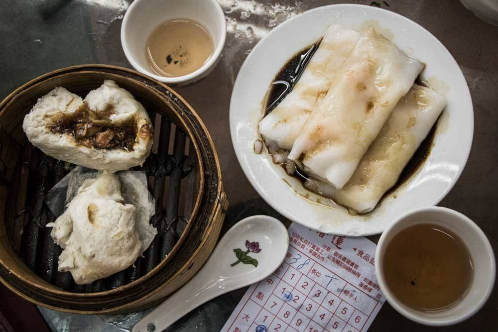 Dim Sum at Lin Heing Tea House in Hong Kong
