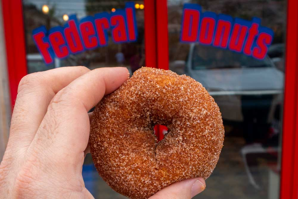 Donut at Federal Donuts in Philadelphia