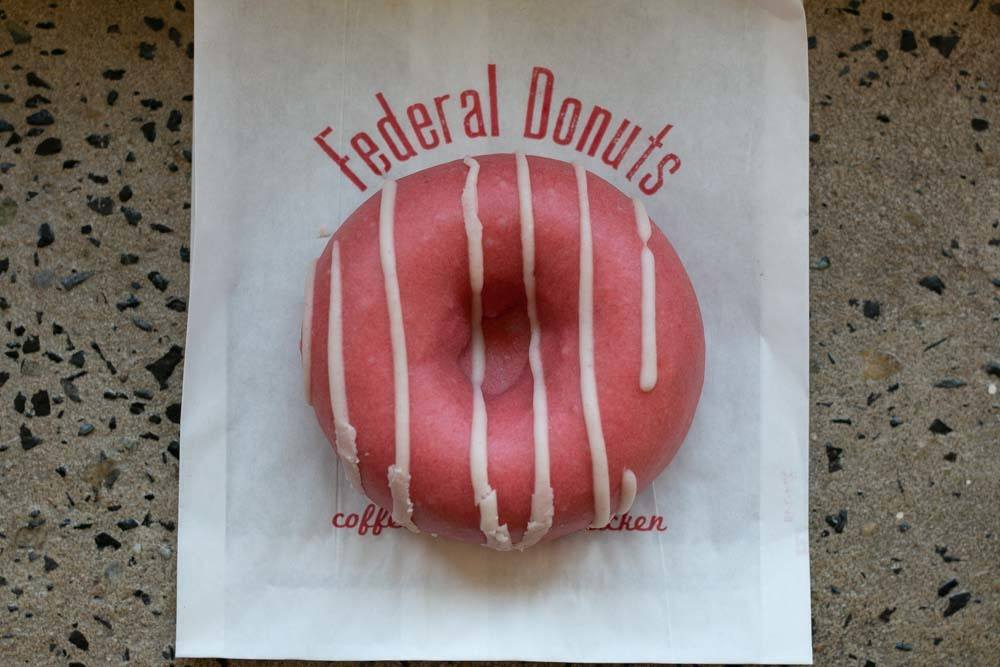 Fancy Donut at Federal Donuts in Philadelphia