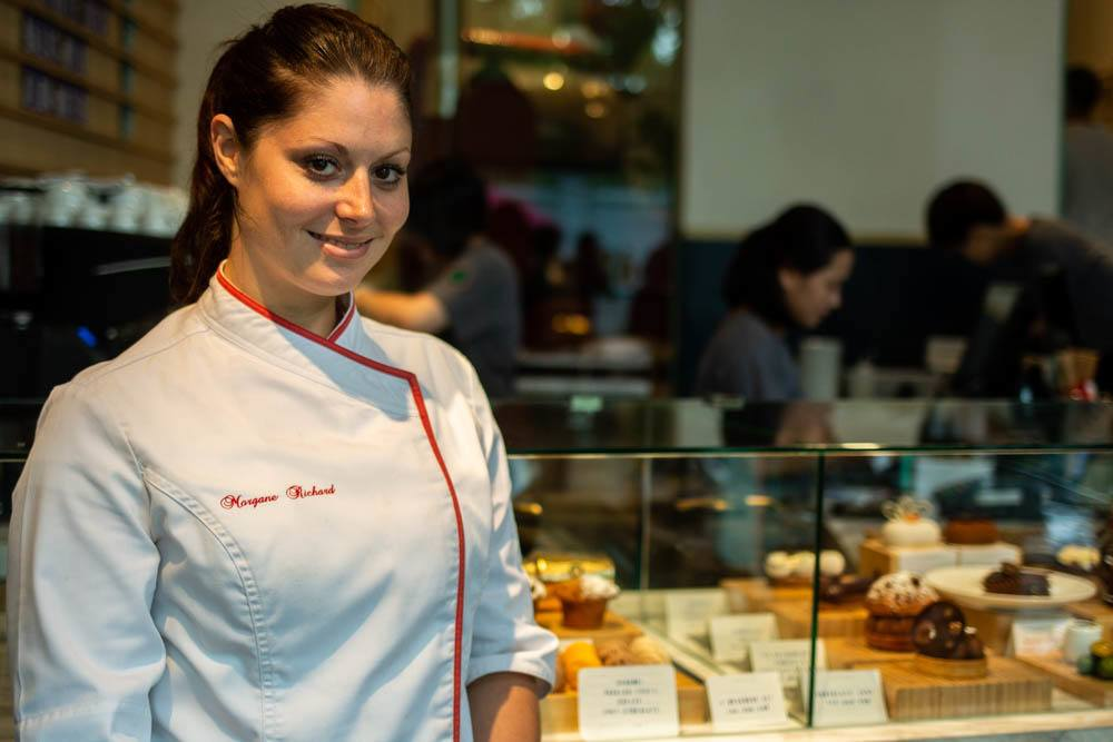 Head Chocolate Chef Morgane Richard at Maison Marou in Hanoi Vietnam