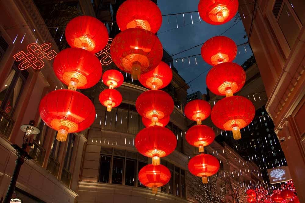 Hong Kong Red Lanterns
