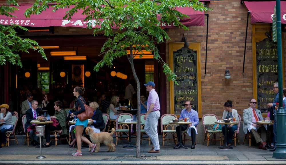 Parc Restaurant in Philadelphia