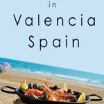 Pinterest image: image of paella with caption reading 'Where to Eat in Valencia Spain'