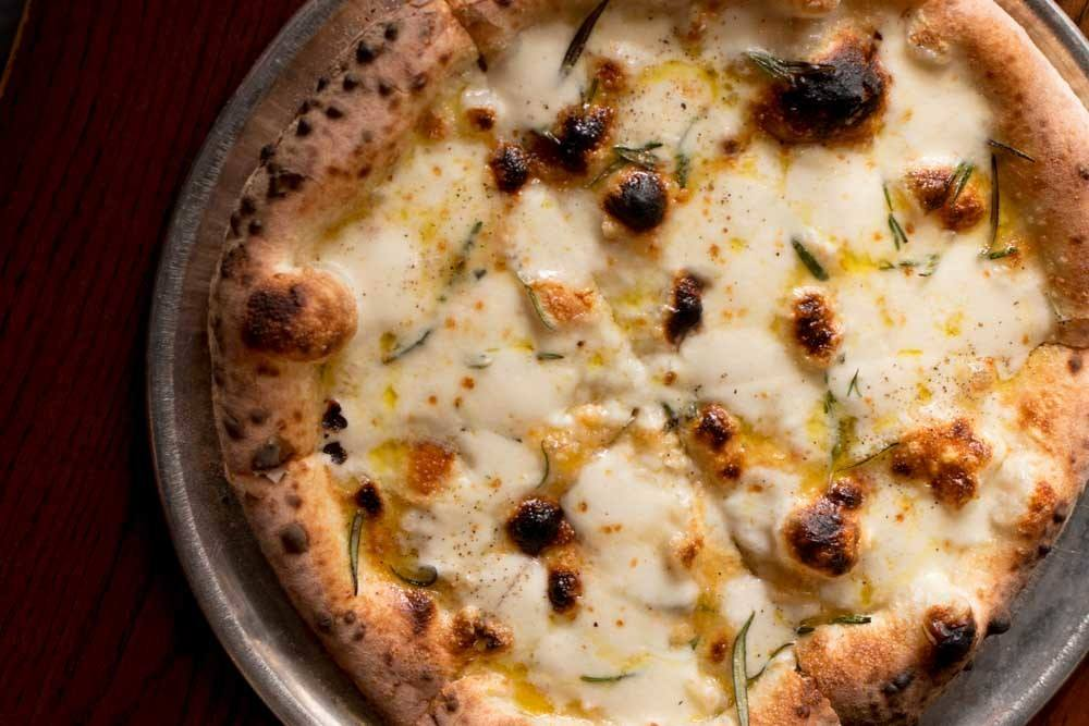 Pizza at Pizzeria Vetri in Philadelphia