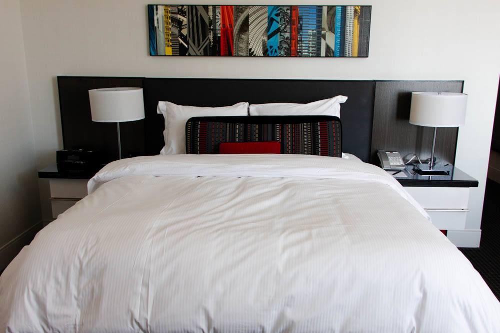 Room at Loews Hotel in Philadelphia