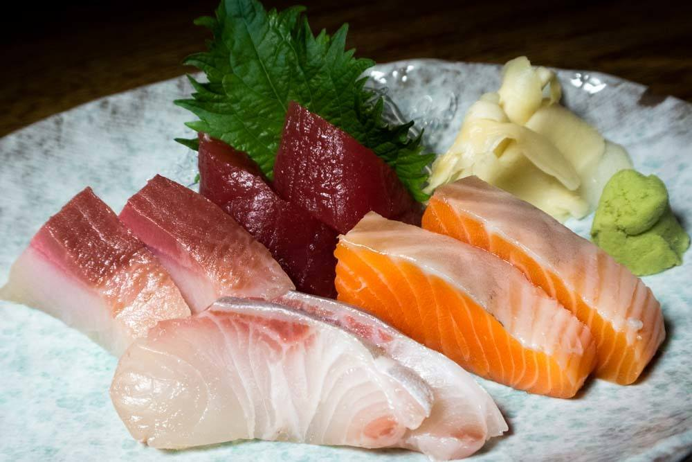 Sashimi at Royal Izakaya in Philadelphia