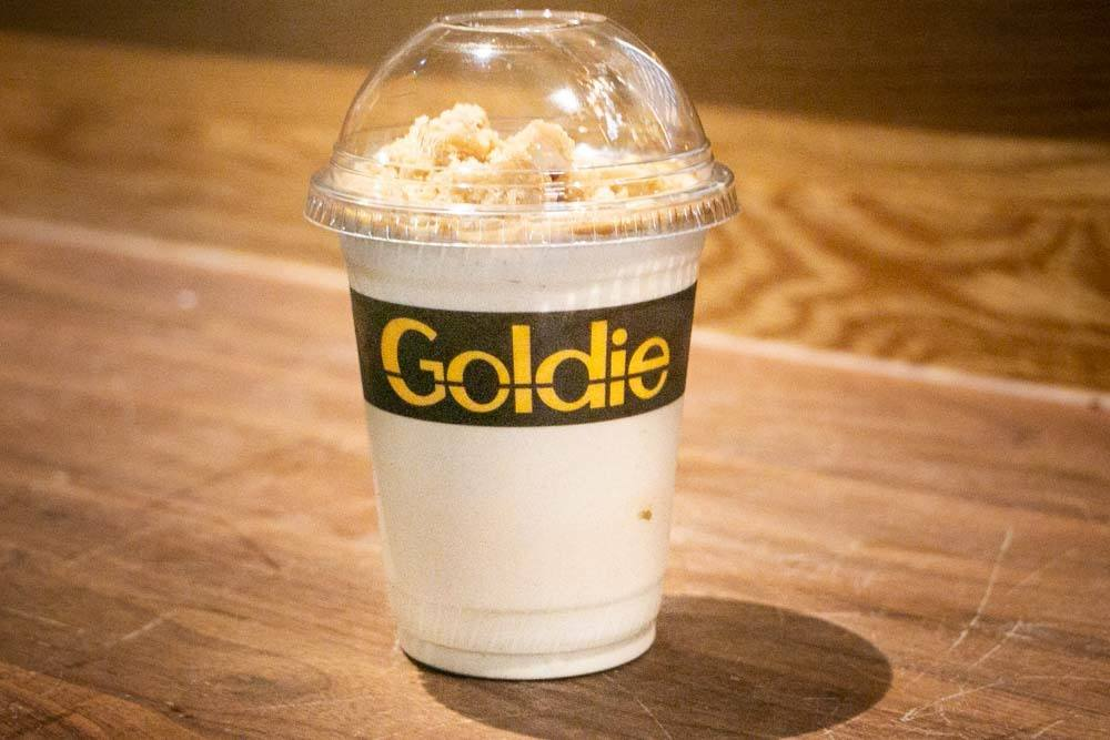 Tahini Shake at Goldie in Philadelphia