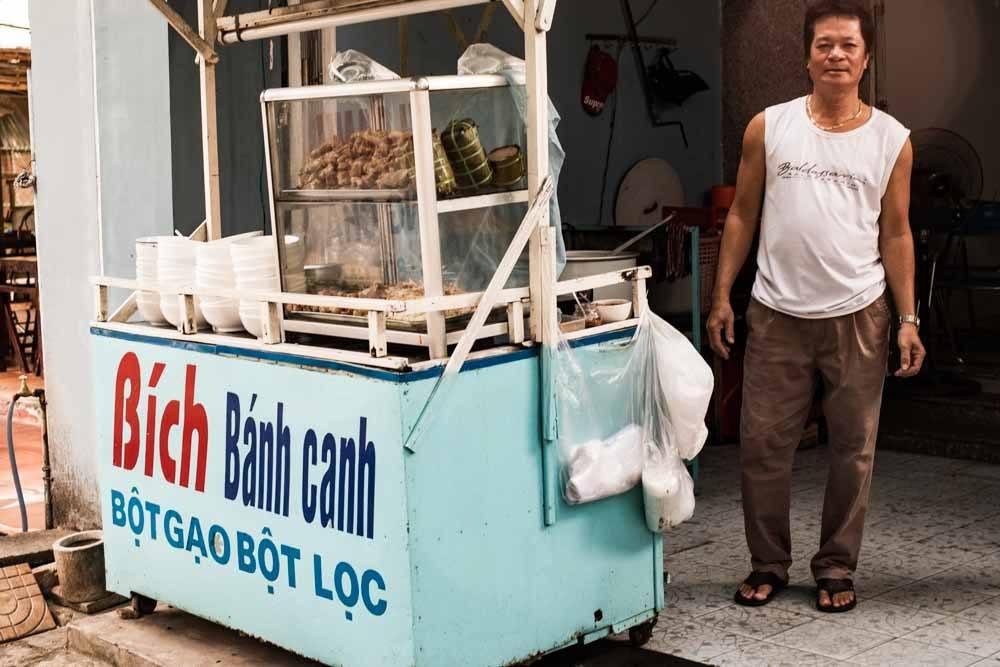 Banh Canh Bich in Da Nang Vietnam