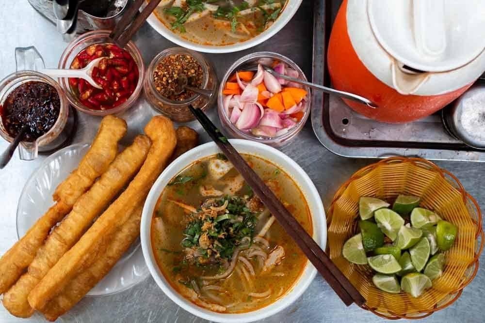 Banh Canh at Banh Canh Bich in Da Nang Vietnam