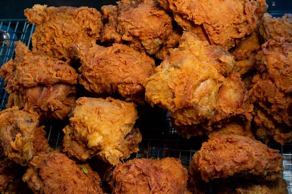 Fried Chicken at Mr. Thinh in Da Nang Vietnam