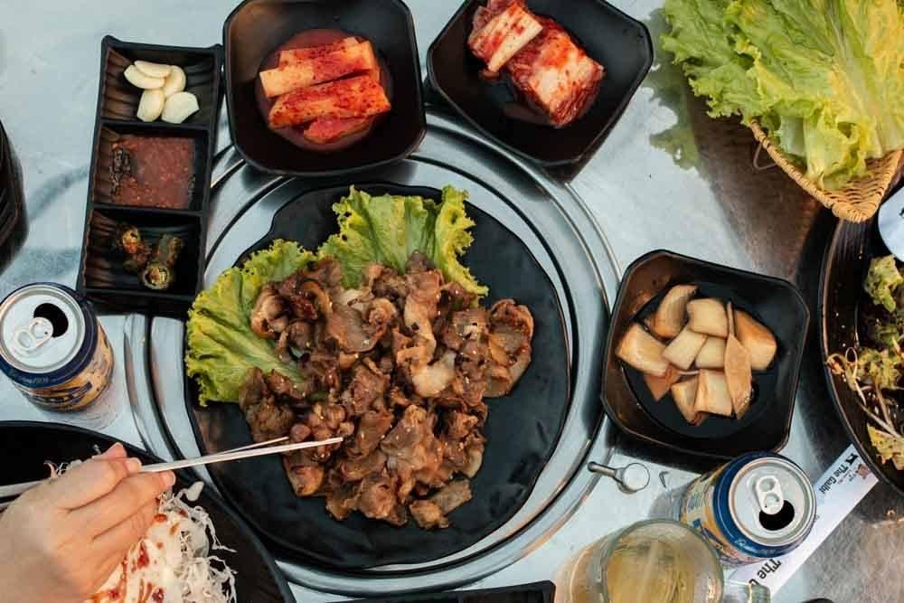 Korean Barbecue at The Galbi in Da Nang Vietnam