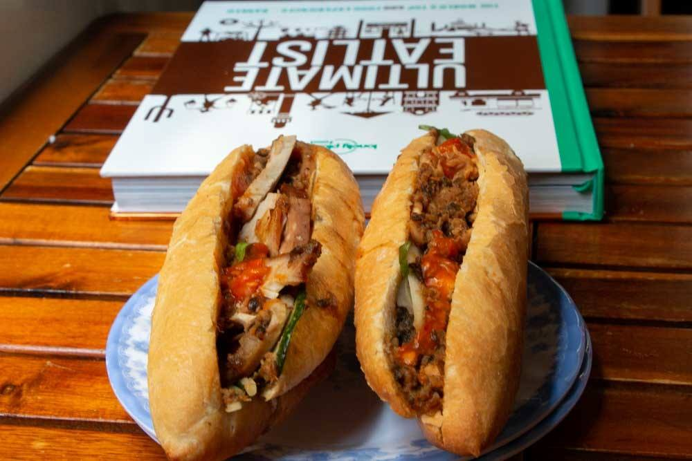 Lonely Planet Ultimate Eatlist with Banh Mi