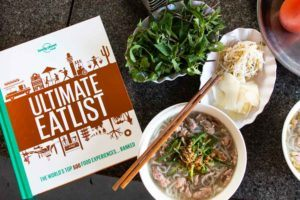 Lonely Planet Eatlist with Pho