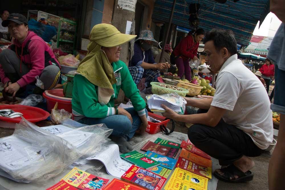 Market in Danang Vietnam
