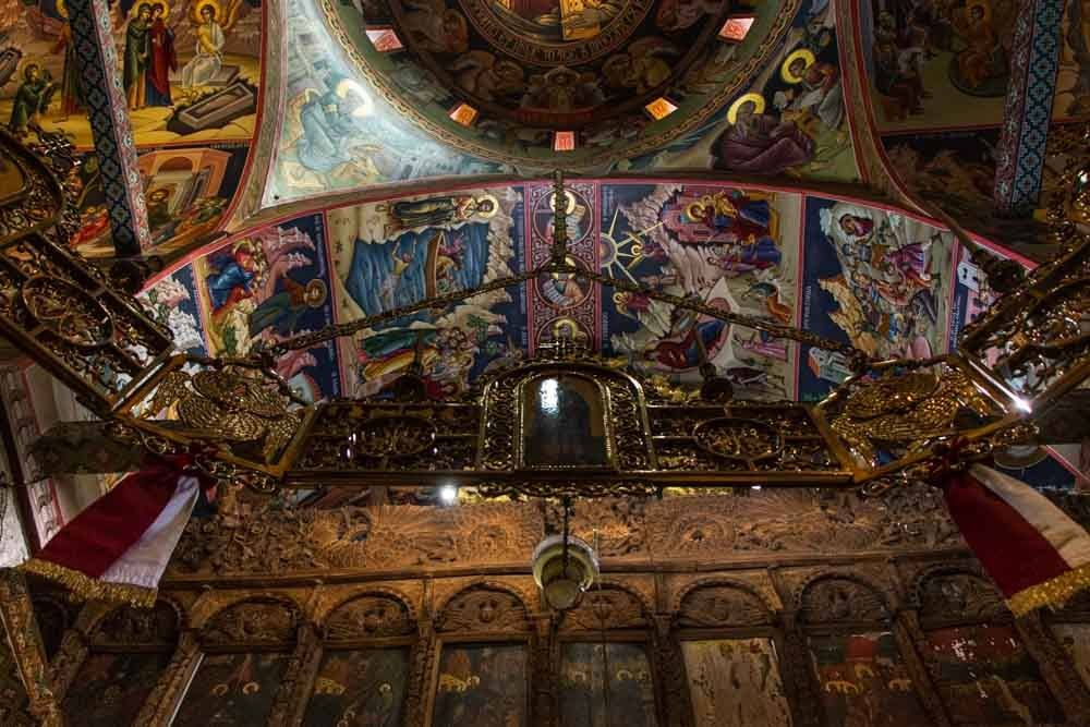 Meteora Monastery Interior