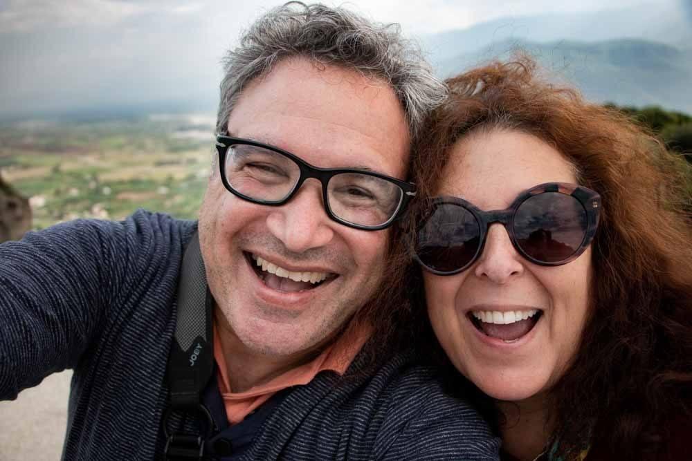 Meteora Tour Selfie