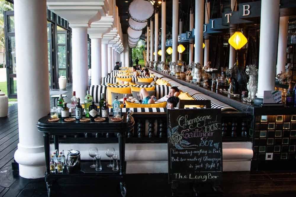 The Long Bar in Da Nang Vietnam