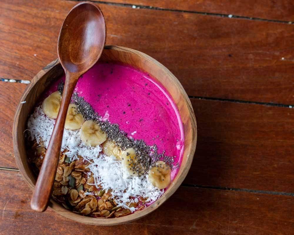 Tropical Pitaya Bowl at Roots in Da Nang Vietnam