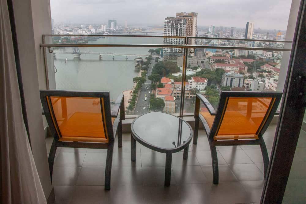 Balcony at Novotel Danang Premier Han River